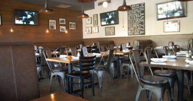 Intérieur d'un restaurant