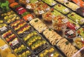 légumes et fruits prets à l'emploi