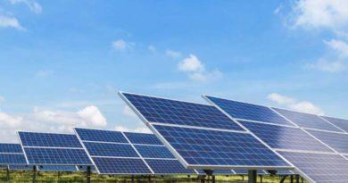 centrale solaire pour protéger des cultures d'asperge