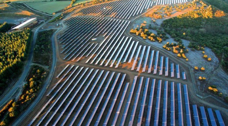 centrale solaire à Vernon