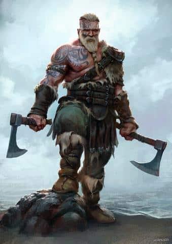 Guerriers de vikings
